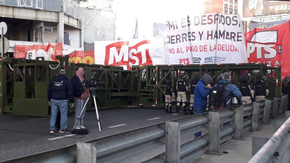 #ParoNacional | Cómo se sintió el quinto paro de la CGT contra Macri