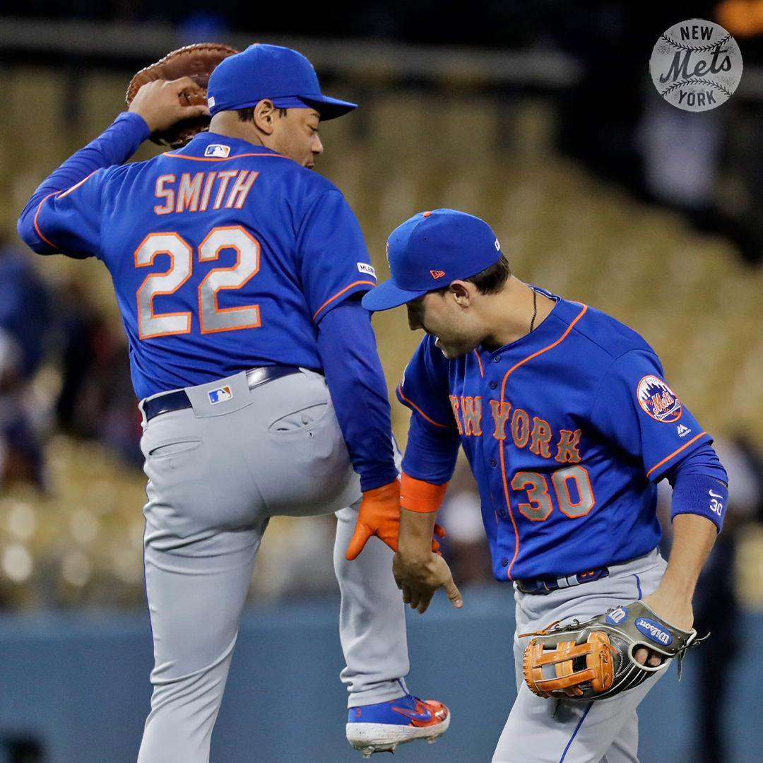 2fefbe7c8 Baseball News  Mets 1B Dom Smith has worn No. 22 throughout his short big  league career but had a 3 ...