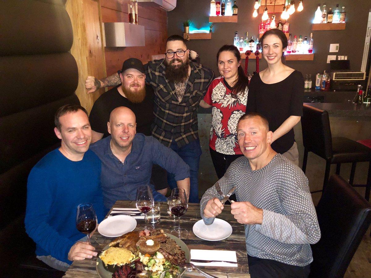 Quel souper incroyable au @restaurantbaumann à Sherbrooke hier soir! Un gros merci! @Royer1934