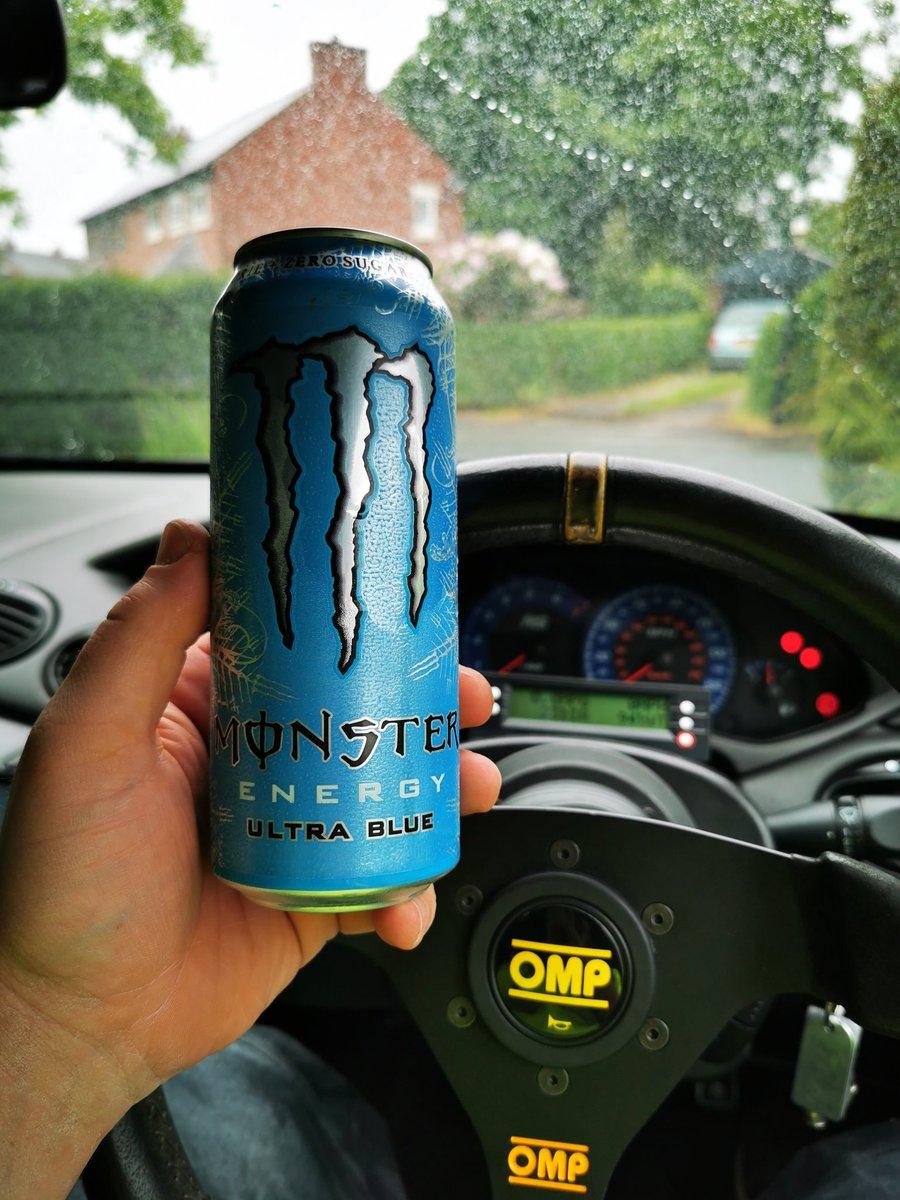 I think I've found my new favorite @MonsterEnergyUK #UltraBlue 😊