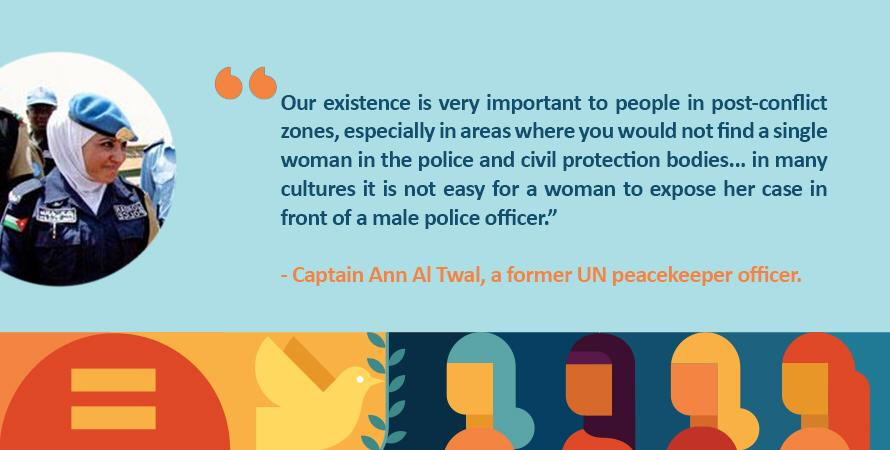a219fad7cb3 Celebrate and thank those who work every day #ProtectingPeace, resolving  conflicts & supporting communities. @UN_Women #PKDay In the words of  Jordanian ...