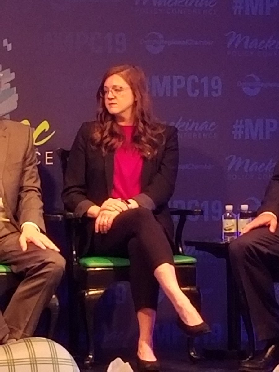 "On customers' questions about data collection, @m_alisyn says, ""When we talk to the communities, that's when our conversations get interesting... When we get questions about data it's 'How does [autonomous] work?'"" @May_Mobility #MPC19 #MichiganISAuto"
