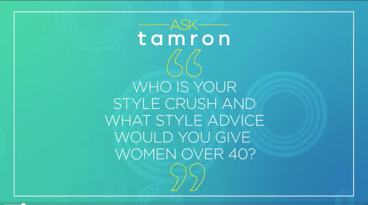 Raise your hand if you're excited to see @tamronhall's style come alive on the show this Fall!
