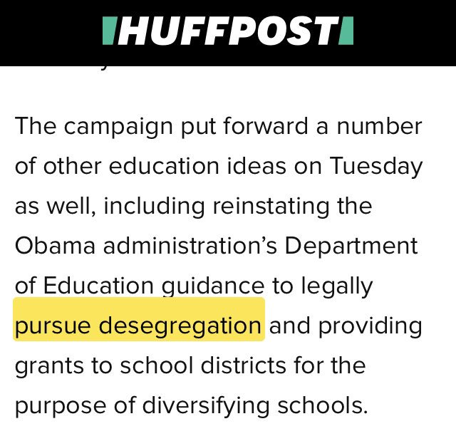 A week after @BernieSanders got huge press for his comprehensive education desegregation plan, @JoeBiden has suddenly rushed out a plan to combat the anti-integration record of Joe Biden.