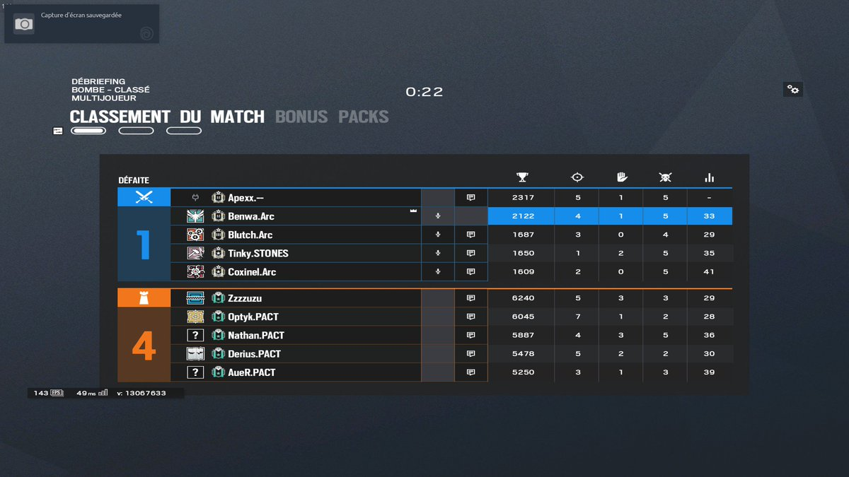 Salaire 2 Matchmaking