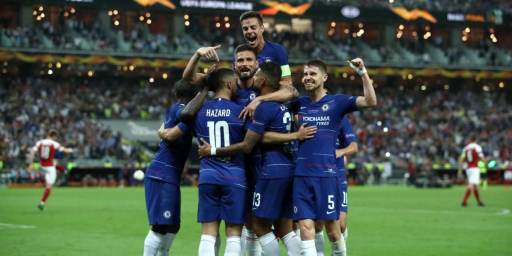 أهداف فوز تشيلسي على آرسنال (4-1) الدوري الأوروبي