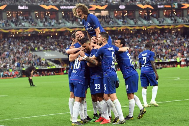 Chelsea Smash Arsenal To Win Europa League  Chelsea have soared past a blunt Arsenal side to achieve Europa League glory and salvaging what has otherwise been a miserable season for Maurizio Sarri's side.