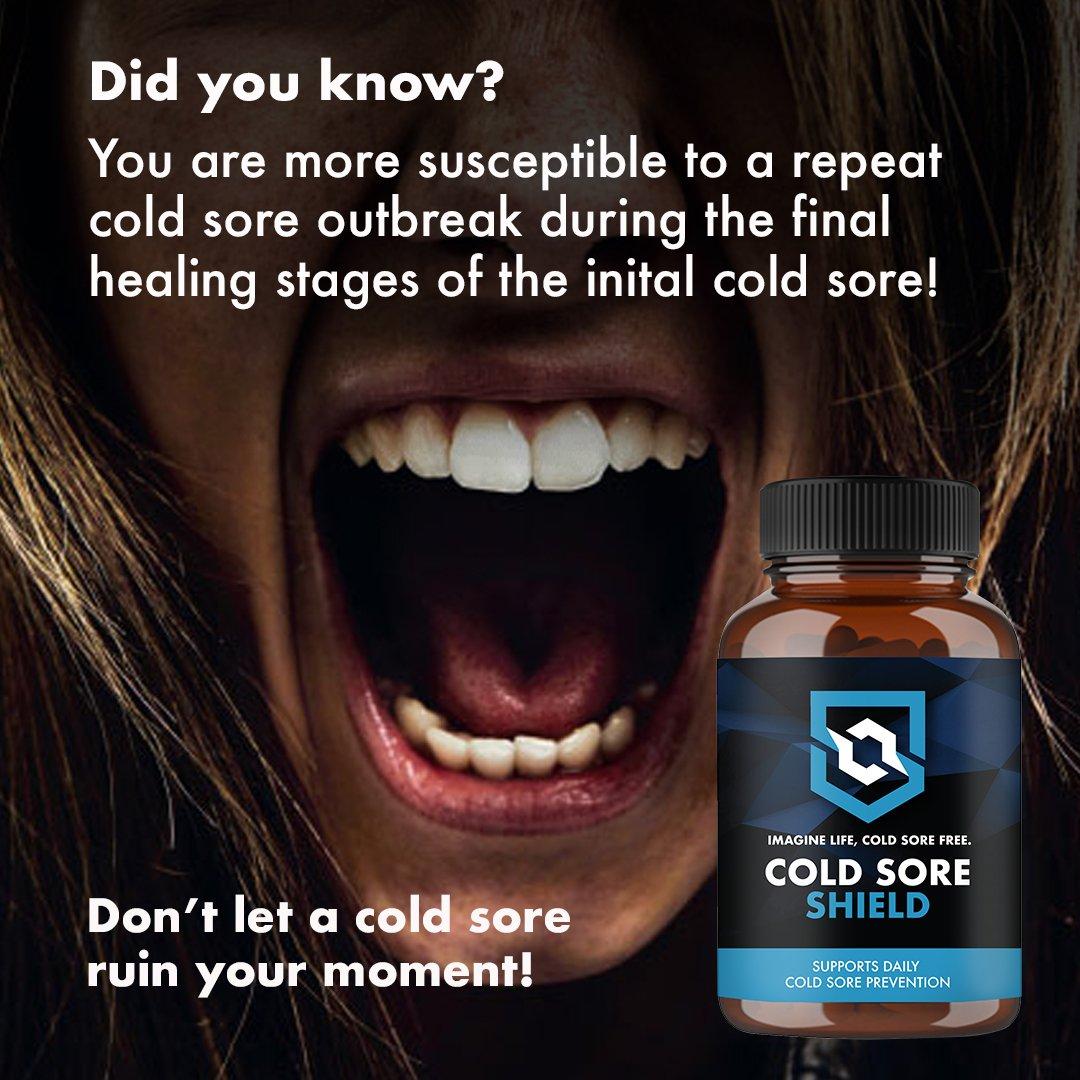 coldsoreprevention hashtag on Twitter