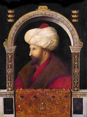 FreeAtlas.org | Fatih Sultan Mehmed'in İtalyan Ressama Çizdirdiği tablo