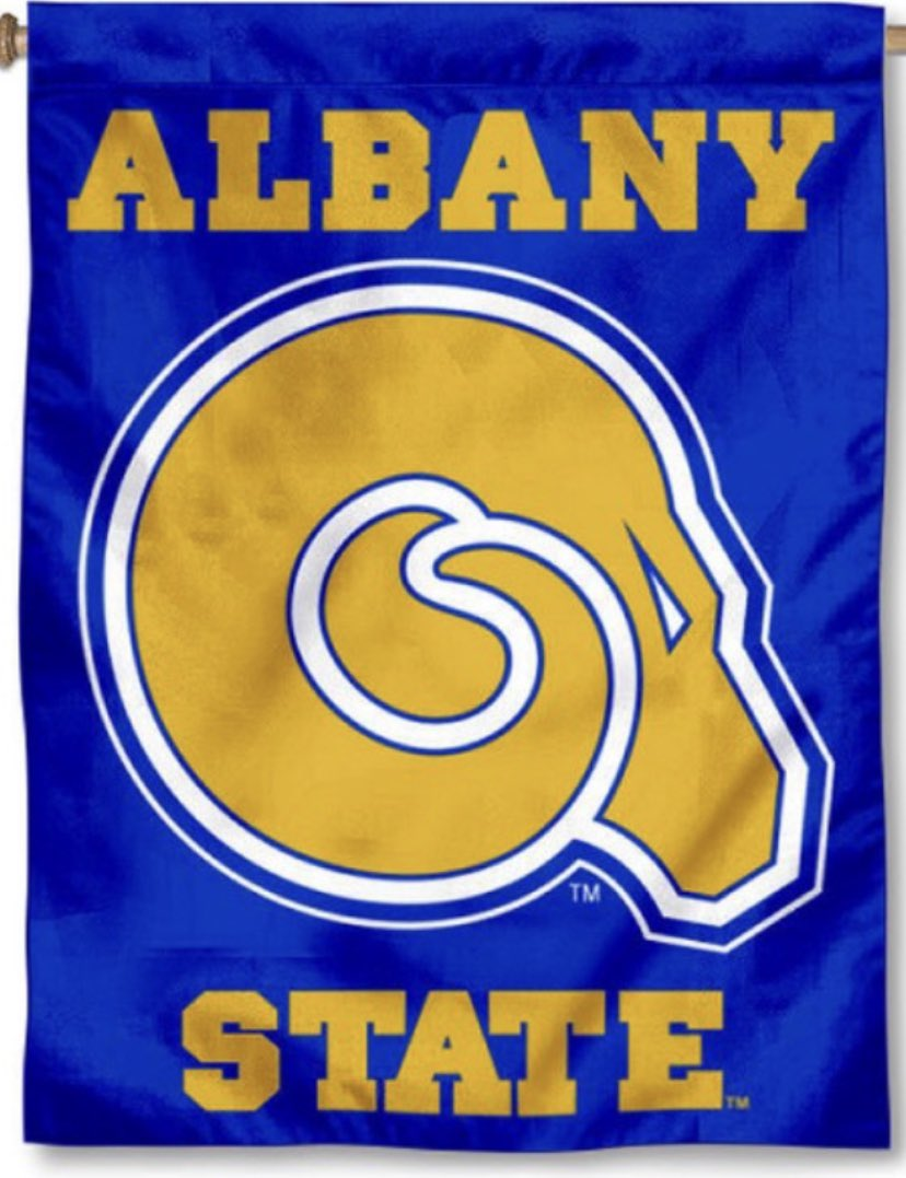 Truly blessed and humbled to receive my first offer from Albany State University! #RamRising @ROBERTSON_9TWO @SCHSPatriots https://t.co/dsh1Tdr8tK
