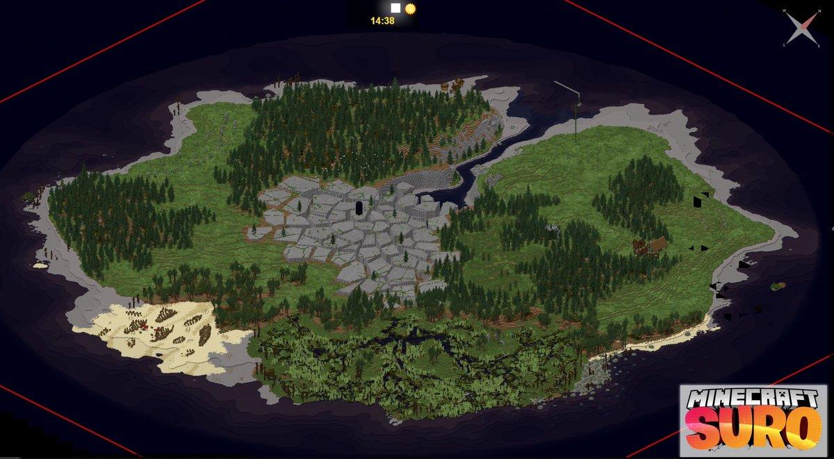 Minecraft Karte.Unge On Twitter Hier Könnt Ihr Täglich Sehen Wie Sich Die Karte