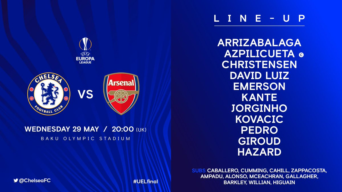 blues kante starts for the blues ��� heres our uelfinal