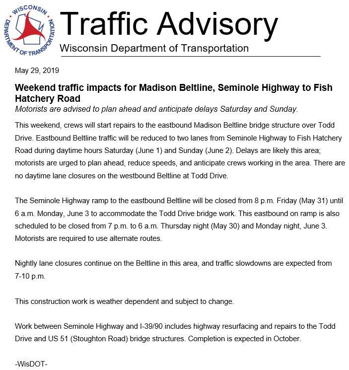Crash Madison Plan State Street >> Madison Traffic Madisontraffic Twitter