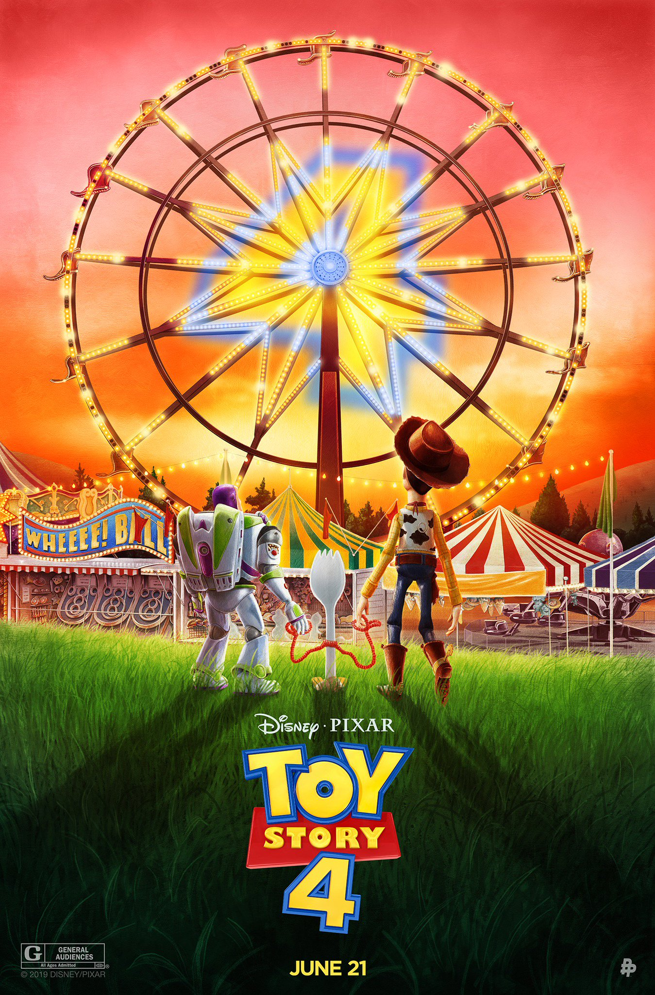 """Toy Story on Twitter: """"Check out these new posters inspired by #ToyStory4!  The toys are back in theaters on June 21. 🎨: @AdStothard, @RhafaelAseo,  @SG_Posters… https://t.co/384yqWPx3q"""""""