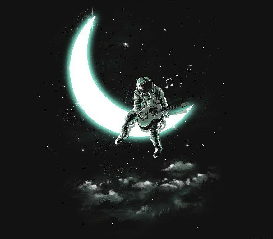 оптимальный картинки на аву с луной для пацанов это будет потом