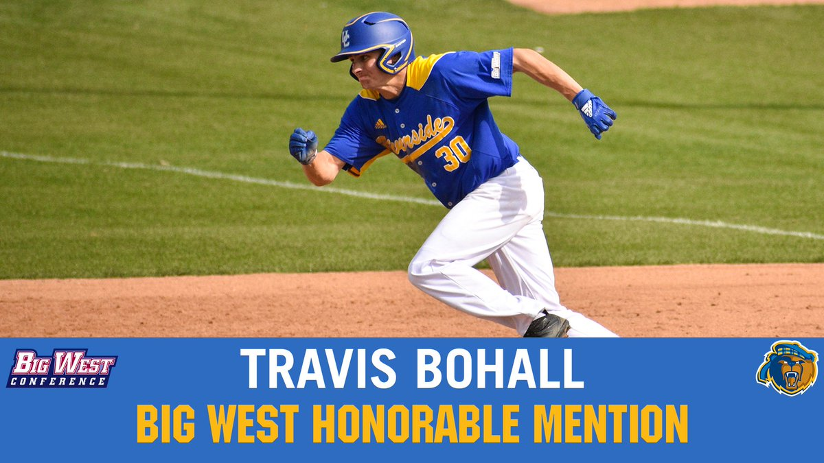 39ada20c7e1 Travis came on strong and the Big West took notice as he was named as a Big  West Honorable Mention. We're proud of you, guys! #GoHighlanderspic.twitter.com/  ...