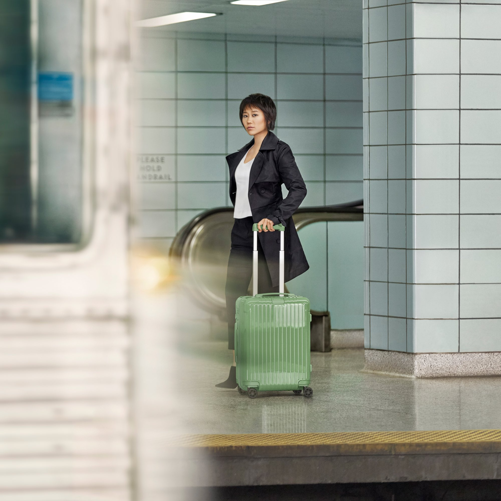 @YujaWang Follow Excited to be working with @RIMOWA on their latest campaign. Stay tuned for the release of my travel film on RIMOWA.com. #RIMOWA #NeverStill