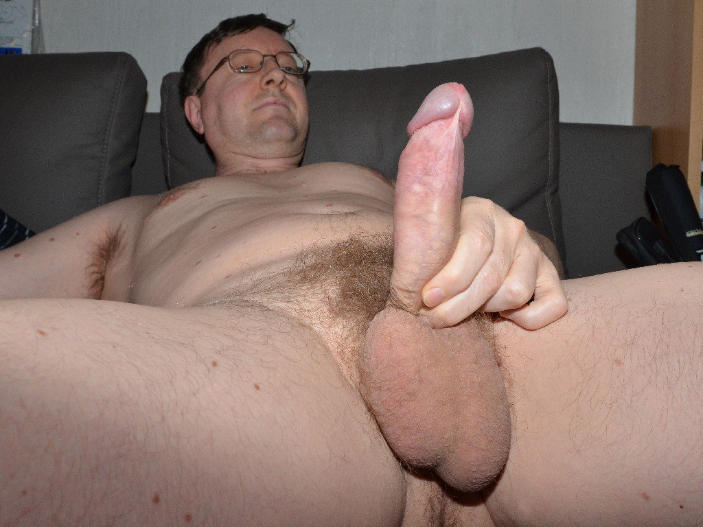 Hairless men with large dick