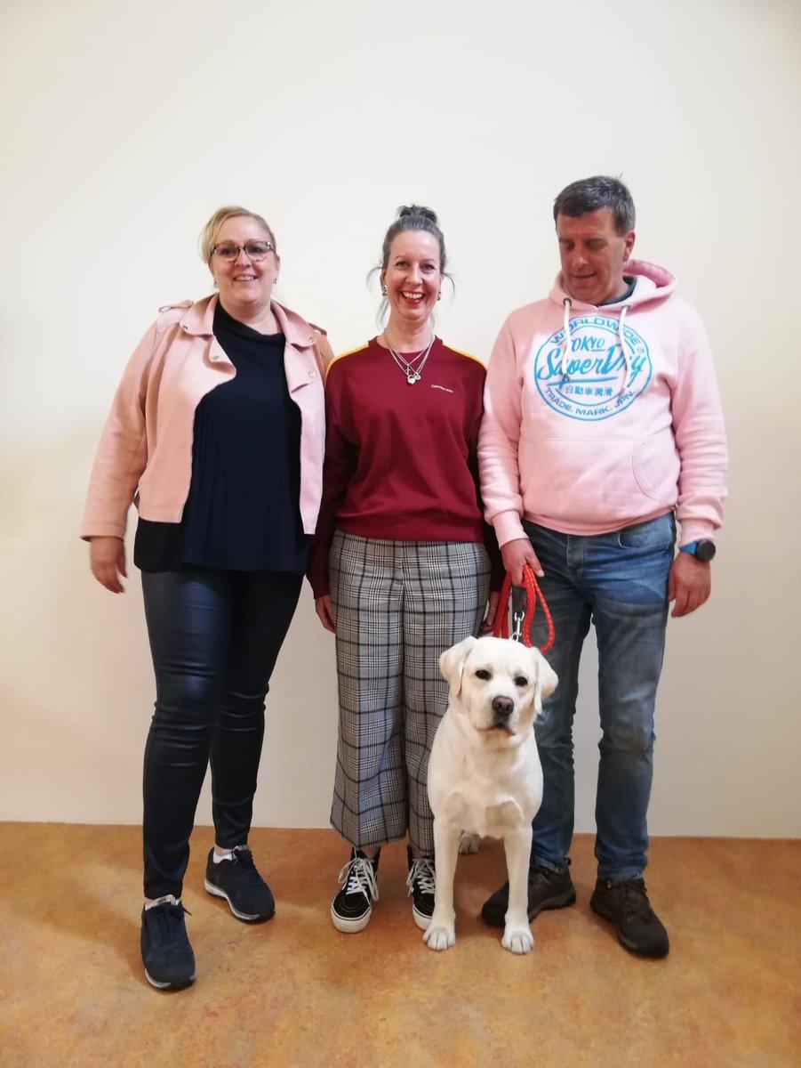 Aaihondenteams van @Viattence gecertificeerd als Dierbegeleider bij @Pets4Care Ze werken nu samen met hun eigen hond in AAI bij @viattence Allen gefeliciteerd veel plezier gewenst! @Waardigentrots @alzheimernl