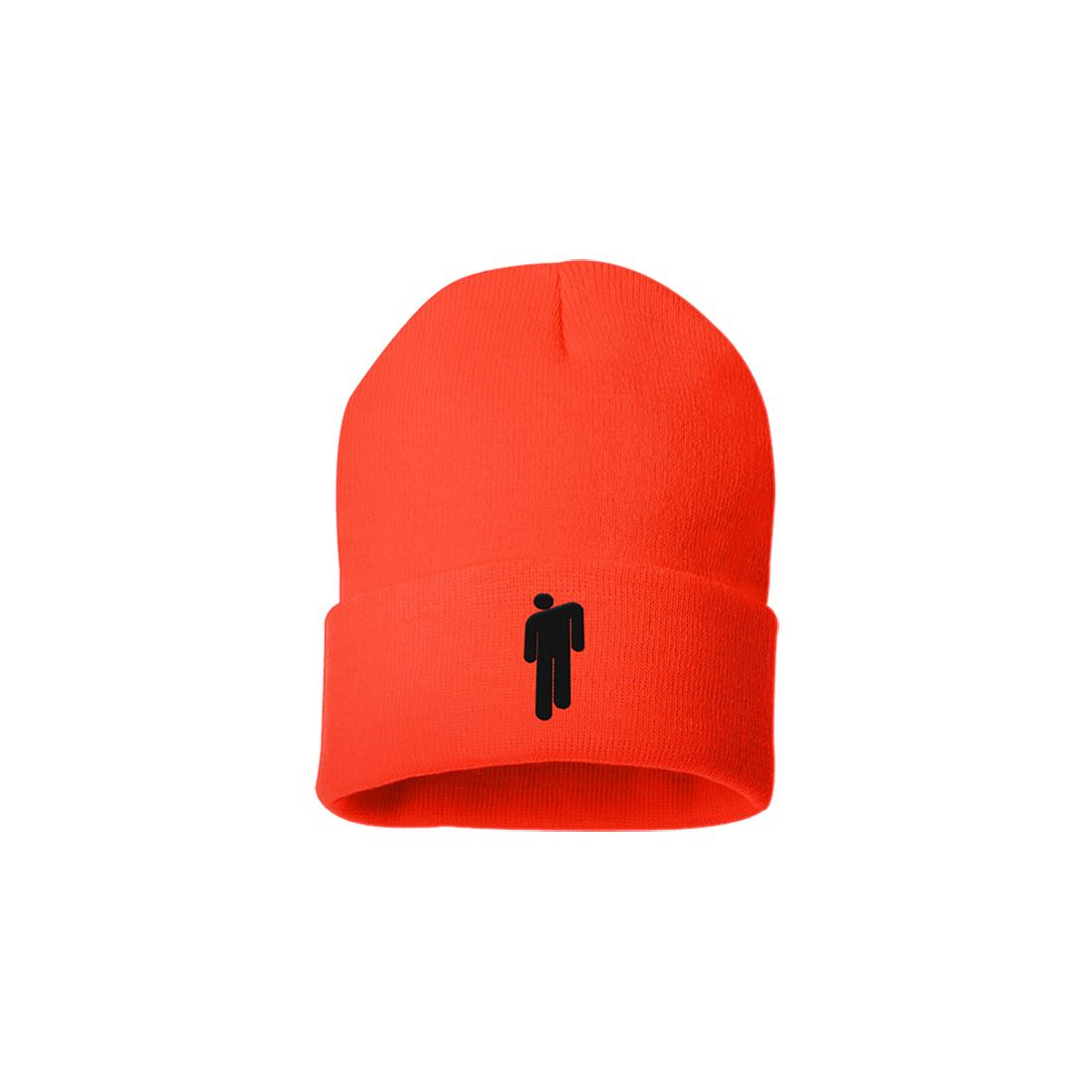 9b9370ff ... Litho and blohsh Orange Beanie. Get them now – limited quantities  available for a limited time in the US only.  http://smarturl.it/BillieEilishStore … ...