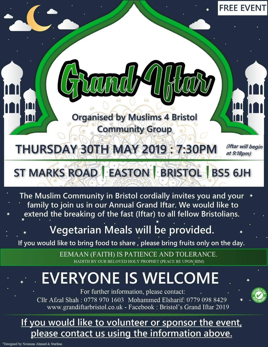 4adf41cfdf97d Grand Iftar is becoming one of the monumental events in Bristol and it is  not to be missed.pic.twitter.com/hZKW8yxeXI