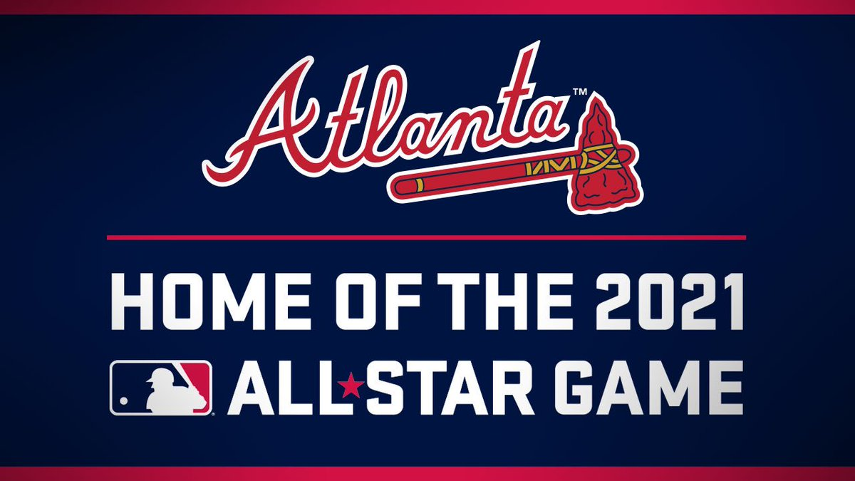 The Atlanta Braves & @SunTrustPark will host the 2021 @MLB All-Star Game! It is a tremendous honor to bring the Midsummer Classic back to Atlanta! #ChopOn https://t.co/hj0dIZty2h