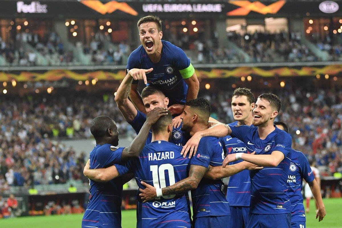 #EuropaLeague | Chelsea aplastó al Arsenal en la final y se coronó campeón