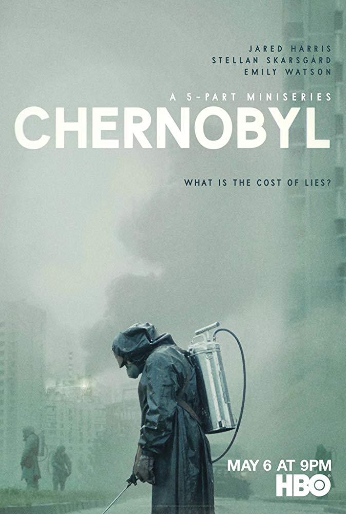 Poster oficial de Chernobyl, la serie.
