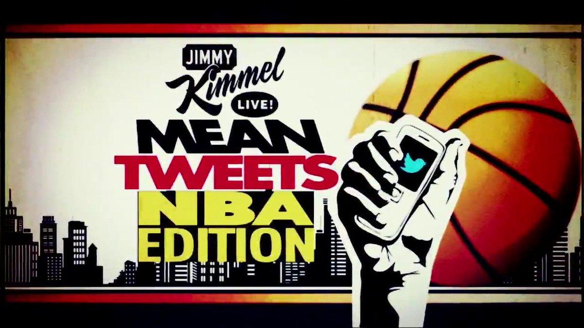 #SneakPeek - NEW #MeanTweets @NBA Edition on #Kimmel #GameNight in PRIMETIME tonight! #NBAFinals @RealDealBeal23 @BenSimmons25 @ChrisBosh