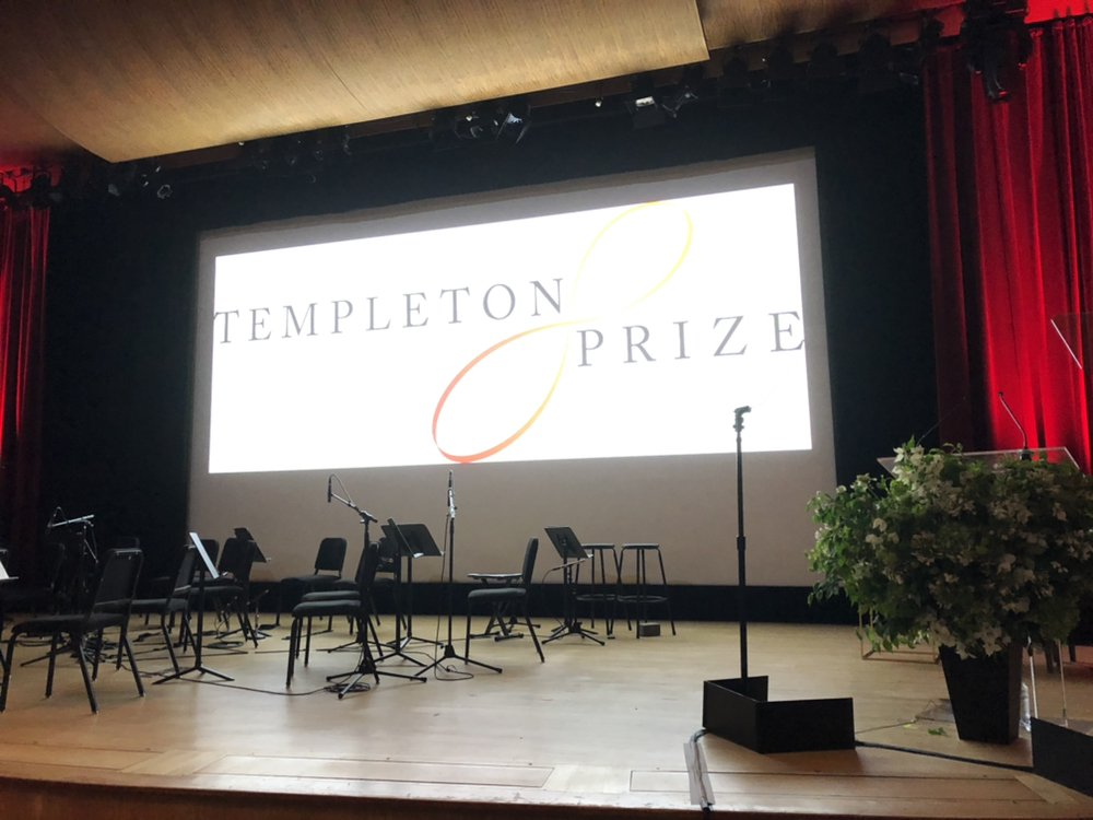 The 2019 Templeton Prize ceremony at @metmuseum is about to start! #TempletonPrize2019