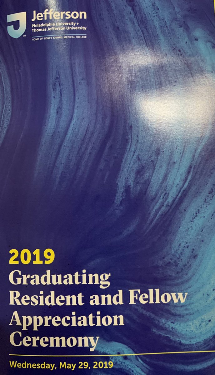 Congratulations to all our graduating residents and fellows @TJUHospital and to the recipients of the Richard C Gozon Compassion in Medicine Awards. @JeffersonUniv #WeImproveLives.