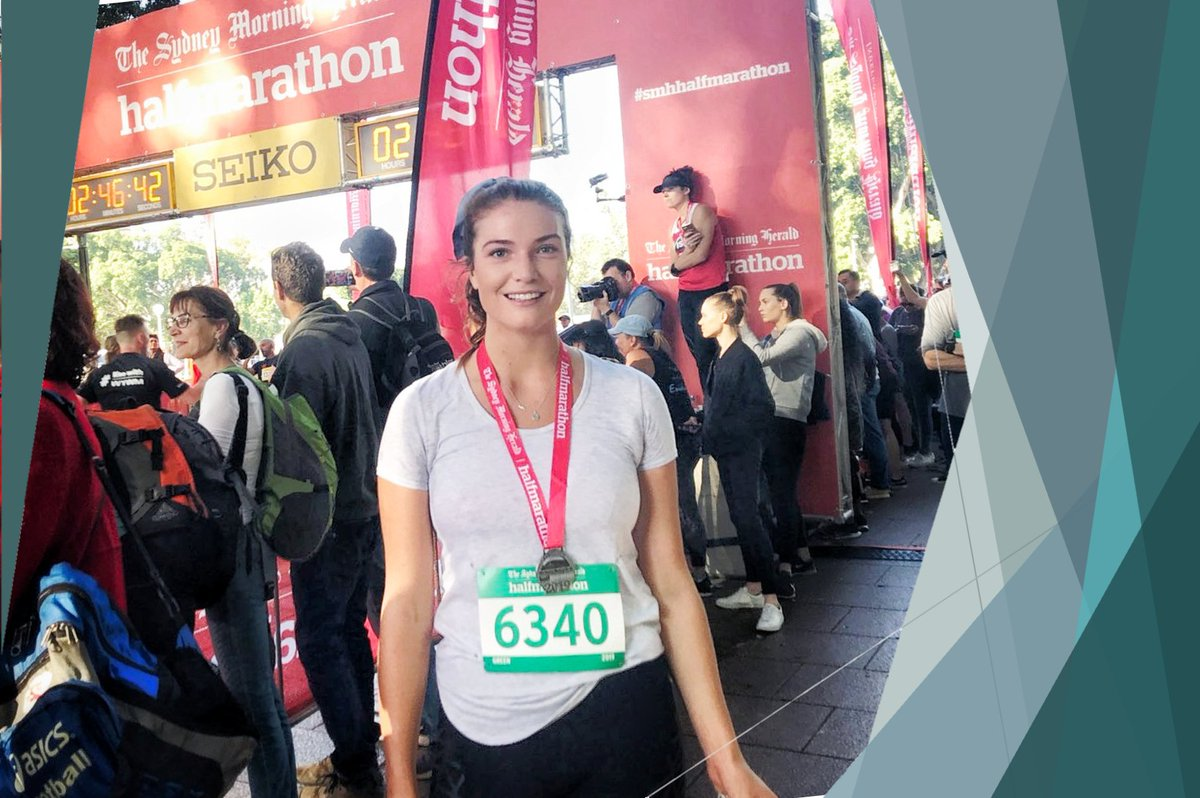 CONGRATULATIONS Dr. Isabella Clark for completing the #sydneyhalfmarathon recently.   Thank you for having me be part of that journey and getting you over the finish line safely!   Can't wait to see how you go in New York!  #marathon #running #dedication #inspiration #motivationpic.twitter.com/idAql6g2Zr