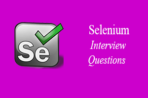 seleniuminterviewquestions hashtag on Twitter