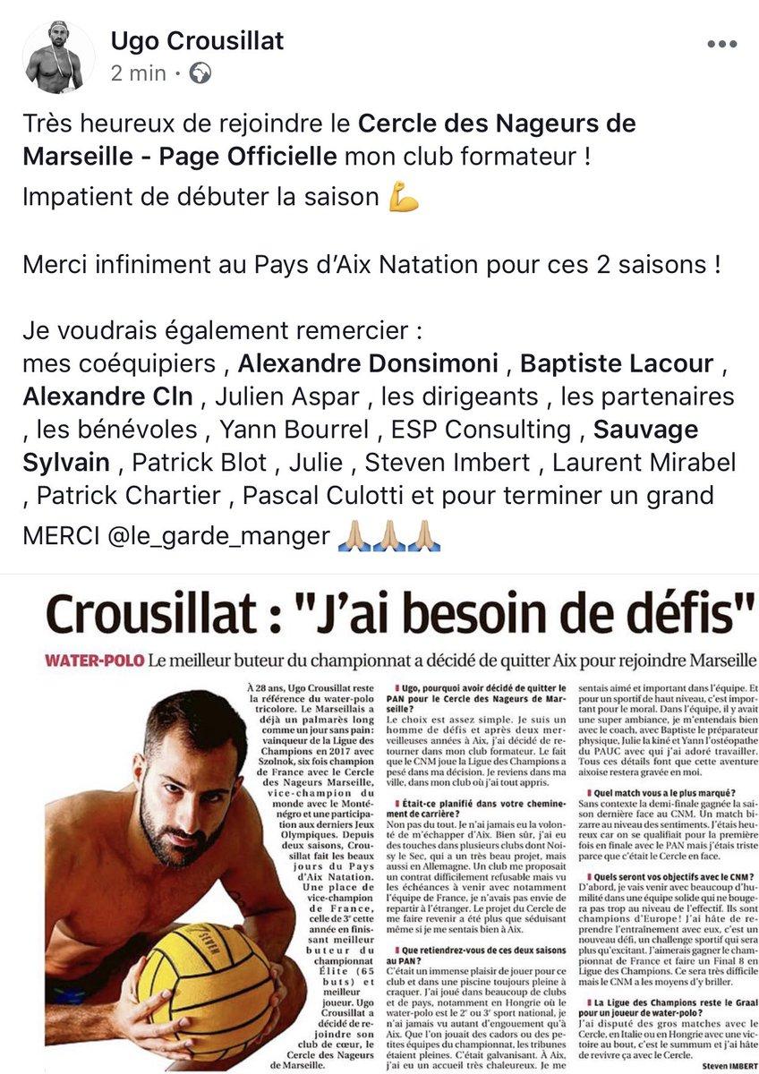 Championnat Polo waterpoloTwitter Elite De Franceelite Water BordxWQCe