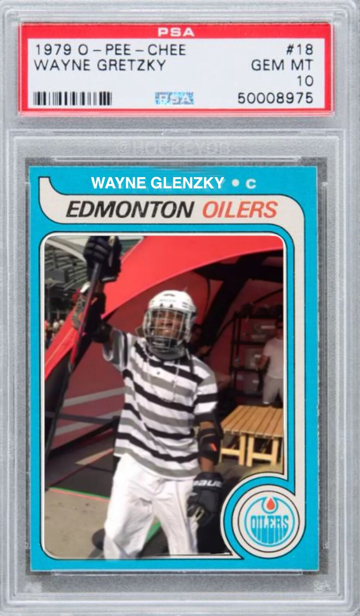 Hockeydb On Twitter Just Bought An Authentic Wayne Gretzky Rookie