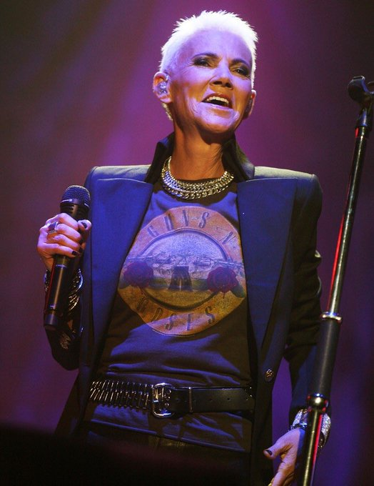 Happy 61st Birthday To Marie Fredriksson - Roxette and more.