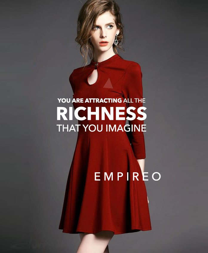 """You are attracting all the #RICHNESS that you imagine.  """"QUANTUM LEAP TO MILLIONAIRE""""💰💎 ▶️ I want to know more about the program https://empireoquantumleap.com/  #MILLIONAIREMINDSET #LUXURYLIFE #ENRICHYOURMID"""