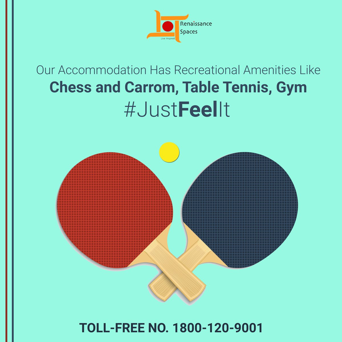 Our Accommodation Has Recreational Amenities Like Chess and Carrom, Table Tennis, Gym, etc... #JustFeelIt #DelhiUniversity #DU #NorthCampus #BoysPG #GirlsPG #SRCC Learn More: http://www.renaissance-spaces.in JOIN OUR COMMUNITY - TOLL-FREE NO. 1800-120-9001