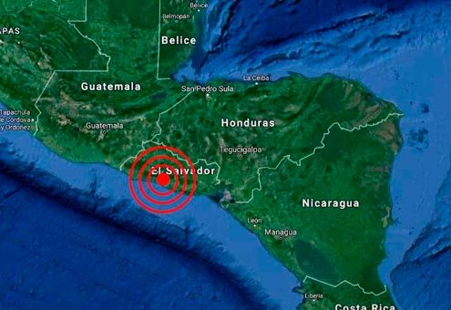 sismo en El Salvador