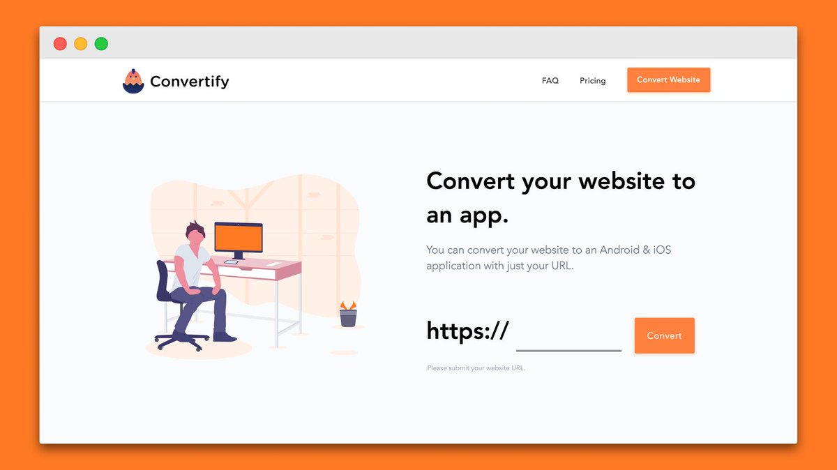 RT @BetaList: Convertify: Convert your website to an app (iOS & Android)  https://t.co/DxSreM3pjG https://t.co/ttcTINrPvW