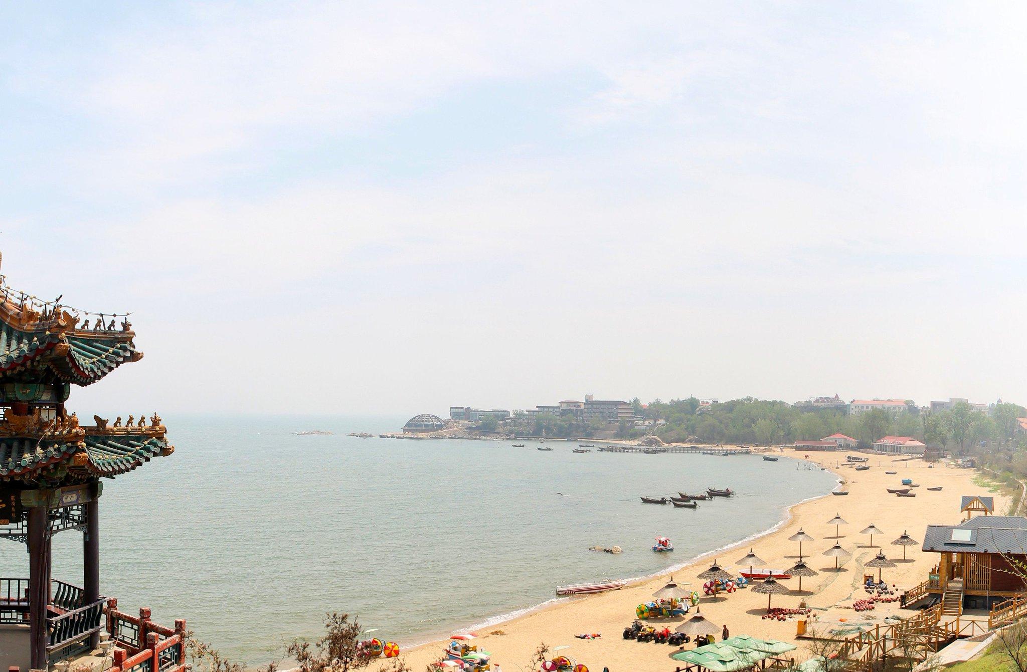 Фото желтого моря в китае