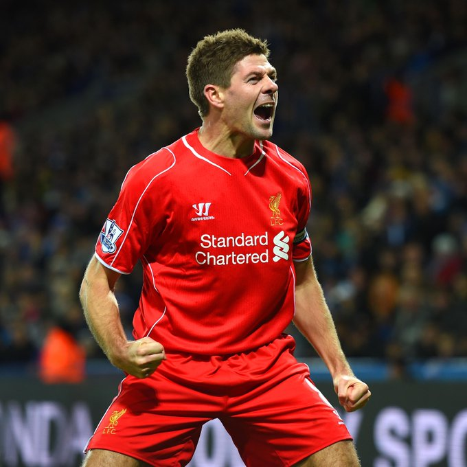A big happy birthday to Steven Gerrard, who turns 39 today