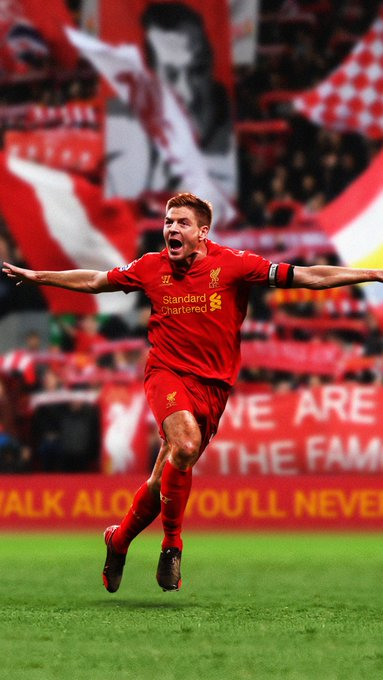 Happy Birthday Steven Gerrard!