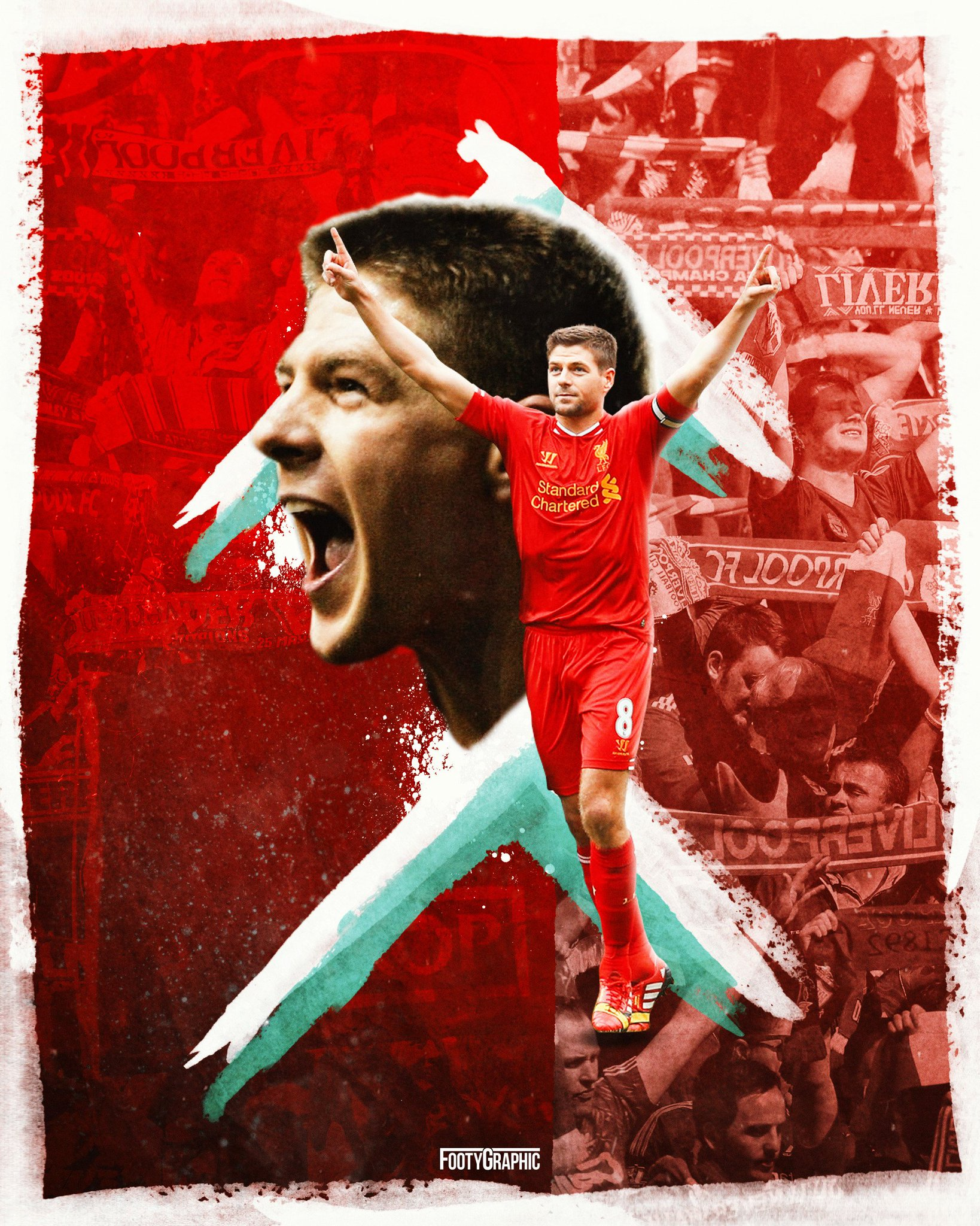 Happy birthday to Steven Gerrard!
