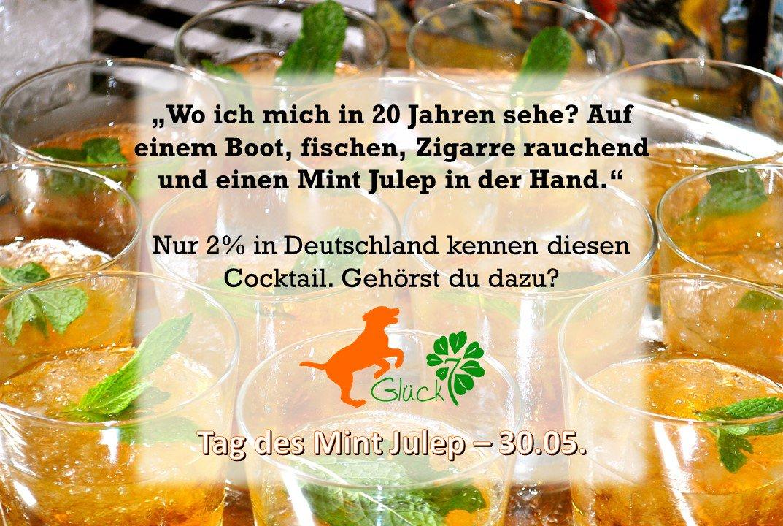 Glück7 On Twitter Mint Julep Tag Cocktail Genuss Glück