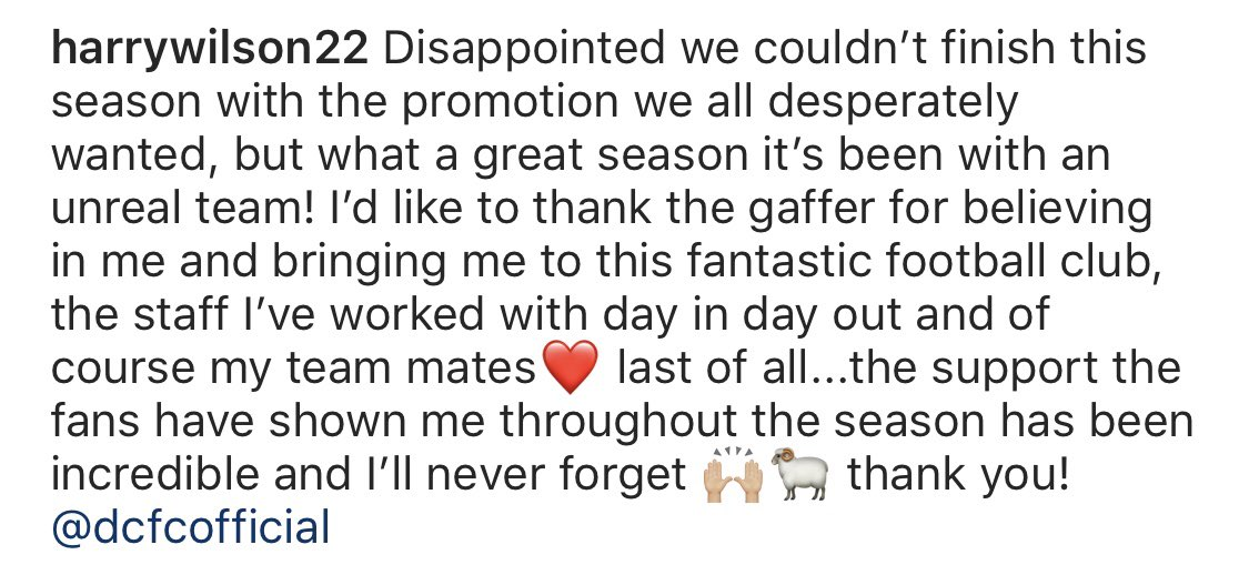 Thank you @dcfcofficial 🙌🏼🐏❤️