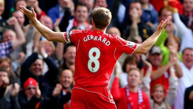 Captain. Leader. Legend.   Happy Birthday Steven Gerrard!