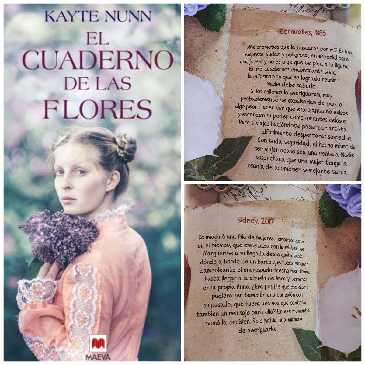 Resultado de imagen de reseña libro el cuaderno de las flores editorial maeva