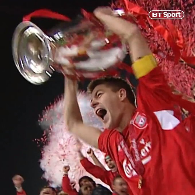 Happy 39th Birthday Steven Gerrard - what kind of present could you get a Liverpool supporter this weekend ??