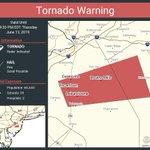 Image for the Tweet beginning: Tornado Warning including Browns Mills